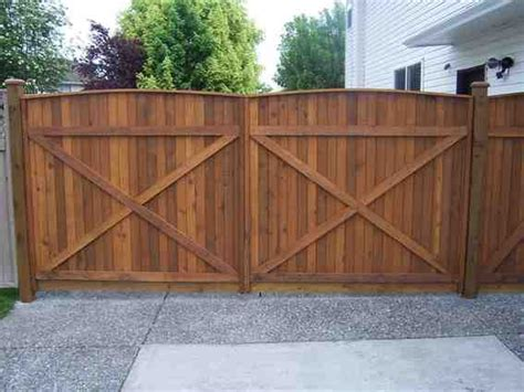 how to build a double swing wooden gate 1000 images about fence the parking pad on pinterest
