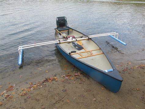 boat stabilizers australia canoe michael moore