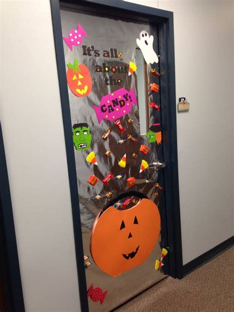 printable halloween decorations for the office halloween office office doors and offices on pinterest