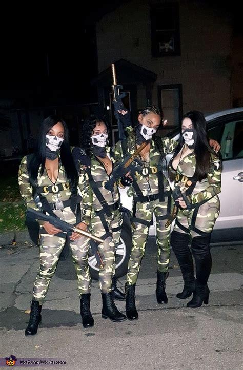 call  duty girls costume