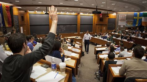 Mit Harvard Mba Ms by Classroom About Us Harvard Business School