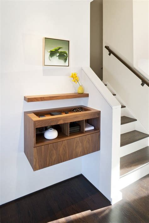 entryway shelves floating around the house how suspended furniture can