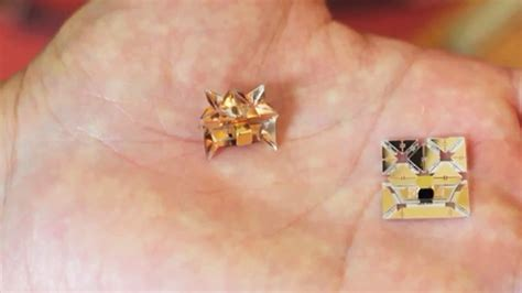 Origami Medicine - could these printable self assembling origami robots