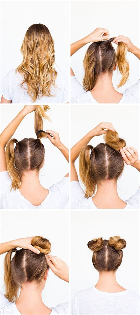 how to make hair buns from braids 25 best ideas about double buns on pinterest dutch