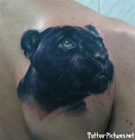 panther head tattoo black panther tattoos 3 models picture