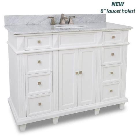 Reasonably Priced Bathroom Vanities by 48 Quot Modern Vanity With White Marble Top Ebay Great