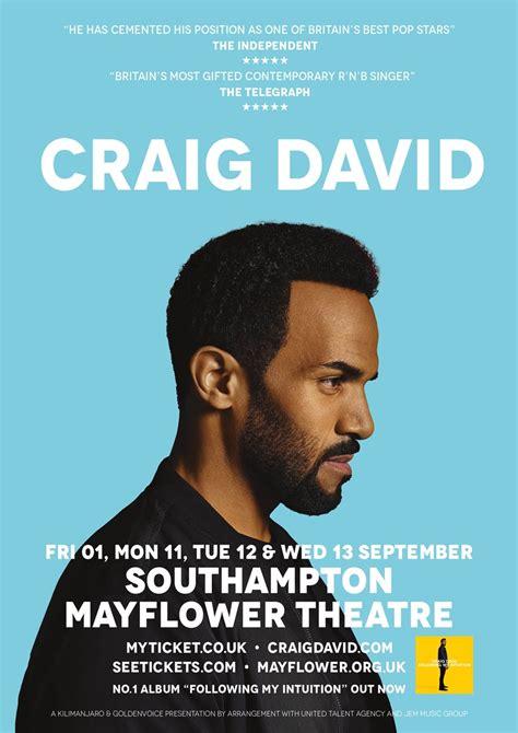 craig tour craig david s 2017 uk tour dates find out how to get