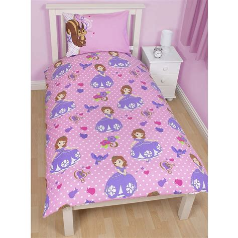 Sofia The Bedroom In A Box Disney Princess Sofia The Duvet Cover Reversible 2