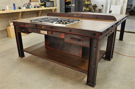 industrial kitchen islands vintage industrial kitchen island vintage industrial