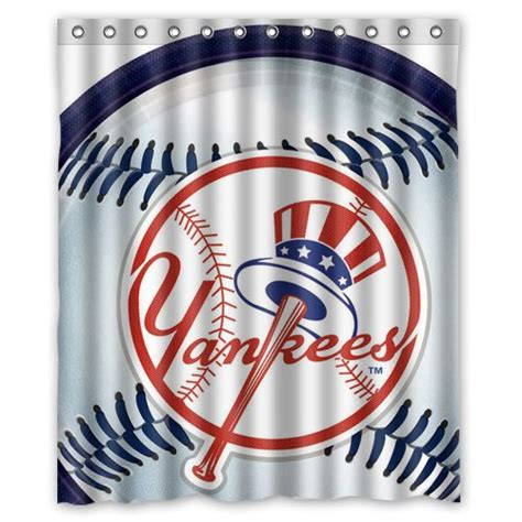 yankee shower curtain new york yankees shower curtain yankees shower curtain