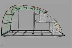 Teardrop Cer Floor Plans Teardrop Cer Kits Trailers Teardrop Trailer With Slide