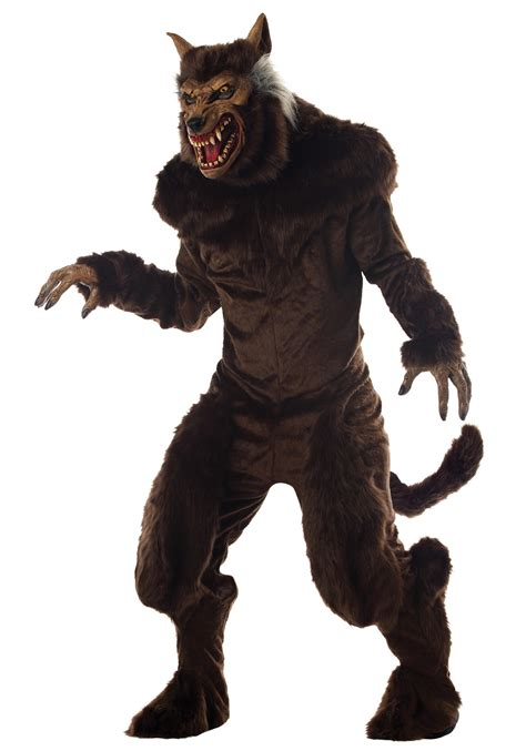 wolf costume deluxe scary costume big bad wolf costumes