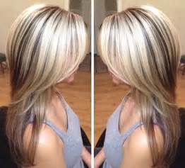 classic blond hair photos with low lights chunky light highlights and dark lowlights dark brown hairs long hairstyles