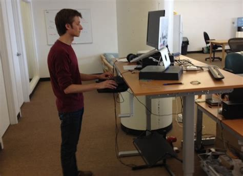 Hack A Standing Desk From Ikea Standing Work Desk Ikea