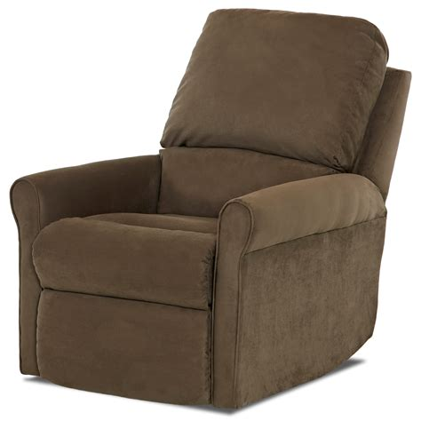 Johnny Janosik Recliners by Klaussner Baja Casual Swivel Gliding Reclining Chair