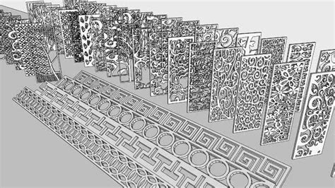 Metal Architecture Model Ornament home ornament 3d warehouse