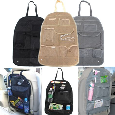 Big Car Organizer 5 car back seat organizer auto travel multi pocket storage bag holder alex nld