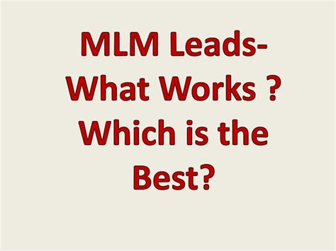 best network marketing opportunities network marketing opportunity choosing the best network