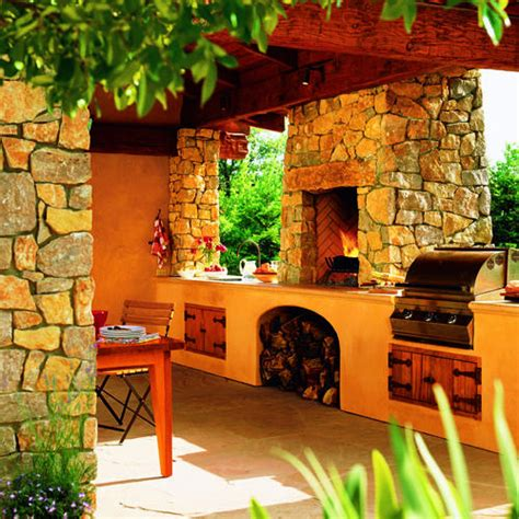 country outdoor kitchen ideas kitchen in the country sunset