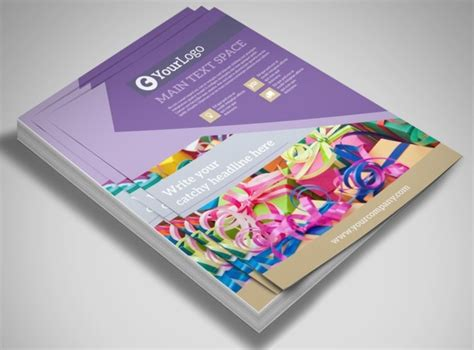 Gift Shop Flyer Template Gift Flyer Template