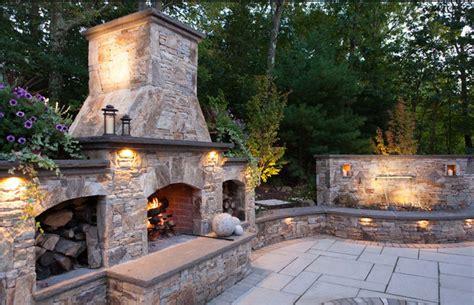 Veneer Outdoor Fireplace by Veneer Outdoor Fireplace