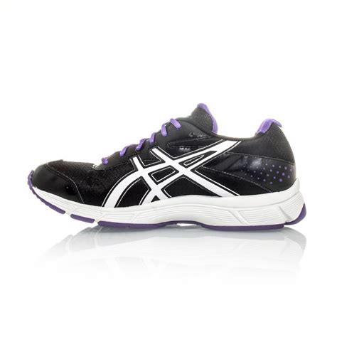 asics gel walk womens walking shoes black white
