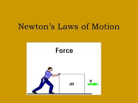 Pdf Three Laws Of Motion by Newton S 3 Laws Of Motion