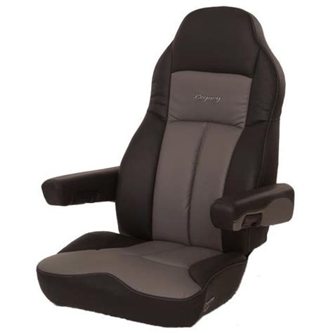legacy lo truck seats seats inc legacy lo high back in black gray ultraleather