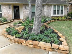 Types Of Garden Edging - rock borders stevens landscaping services