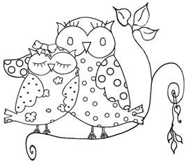 free owl coloring pages free owls coloring pages