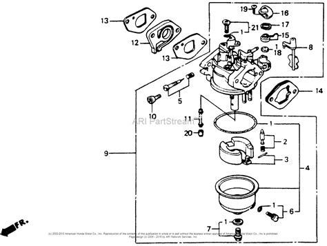 honda gvc160 carburetor diagram honda 160cc carburetor diagram wiring diagrams repair