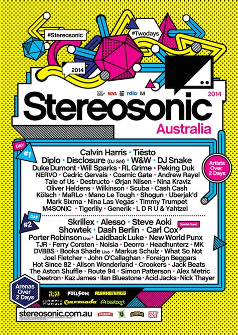 design poster uk 33 poster designs from the world s most iconic music festivals