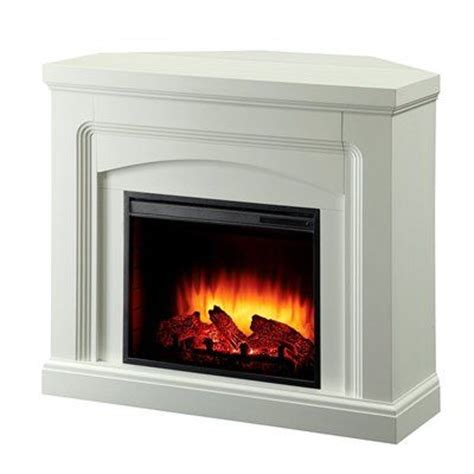 lowes palmer ak pleasant hearth 42 in white corner or flat wall electric