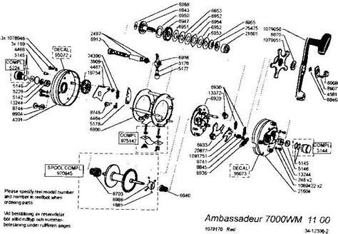 abu garcia reel parts diagram abu garcia reel schematics dirlister vesselyn