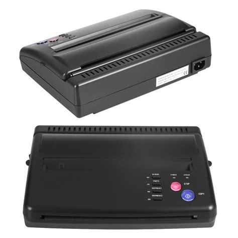 tattoo printer amazon tattoo transfer copier printer machine thermal stencil