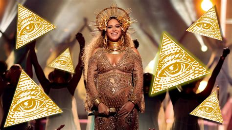 illuminati and beyonce beyonc 233 s grammy performance fuels illuminati comparisons