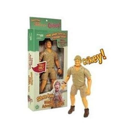 Company To Make Steve Irwin Figure by Australia Zoo Steve Irwin 9 Quot Collectible Talking