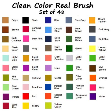 what of water do you wash colors in zig clean color real brush 48 color collection w
