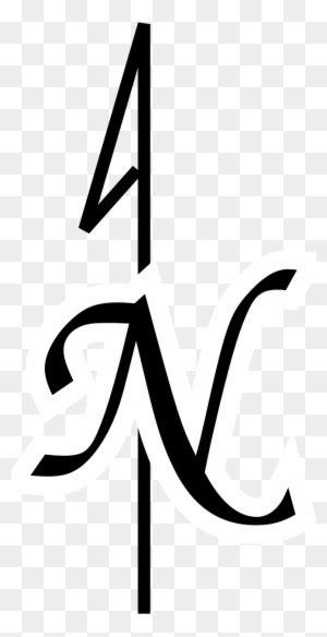 North Arrow Orienteering Clip Art - North Arrow No
