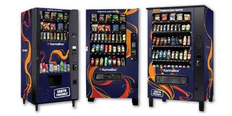 healthy food vending machine franchise karmabox boutique healthy vending franchise information