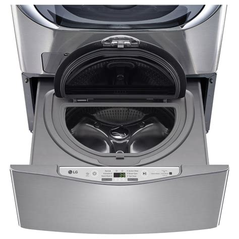 lg electronics 29 in 1 0 cu ft sidekick pedestal washer - Pedestal Washer