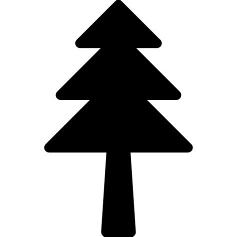 193 rbol de navidad en silueta iconos gratis de naturaleza