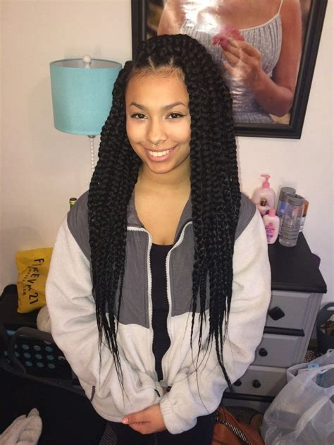 cost of box braid on long thick hair 1166 best images about senegalese twist box braids etc