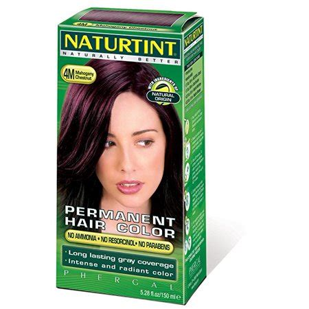 naturtint color naturtint permanent hair color 4m mahogany chestnut