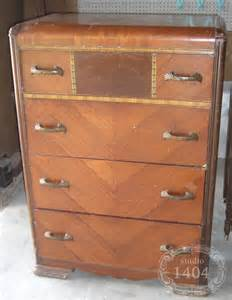 antique deco bedroom furniture waterfall dressers upwithfurniture