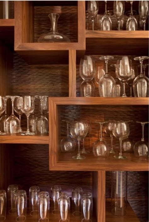 bar shelving ideas trendy barware ideas for home settings