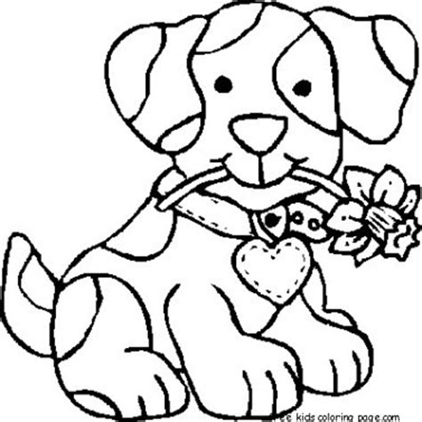 coloring pages print out dog coloring pages for preschoolers for kidsfree printable