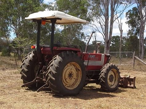 fiat tractors for sale australia fiat 4x4 tractor 780 dt qld for sale construction