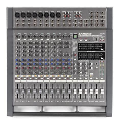 Mixer Audio Samson samson txm16 16 channel powered table mixer djkit