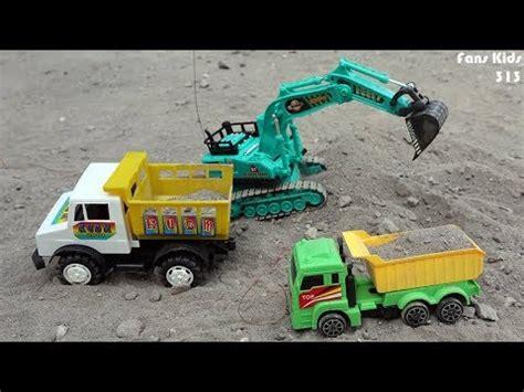 Mainan Anak Dump Truck Besar dump truck excavator remot for children i mainan